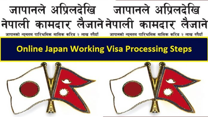 Online Japan Working Visa Processing Steps
