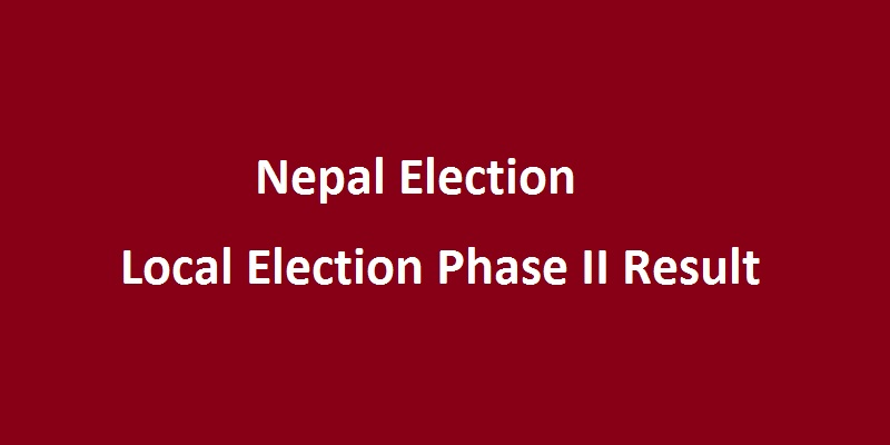 Local Election Phase II Result