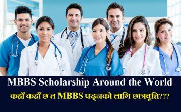 MBBS Scholarship Around the World