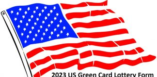 2023 US Green Card Lottery Form