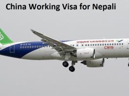 China Working Visa for Nepali