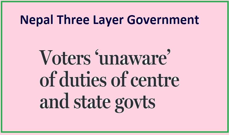 Nepal Three Layer Government