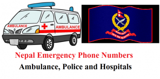 Nepal Emergency Phone Numbers