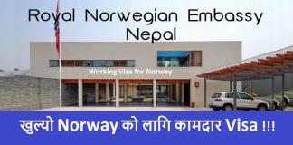 Working Visa for Norway