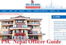 PSC Nepal Officer Guide