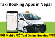 Taxi Booking Apps in Nepal
