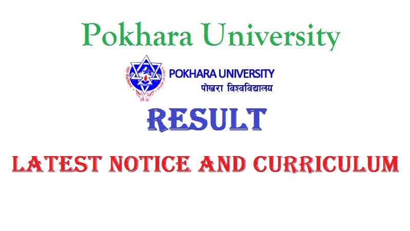 Pokhara University result latest notice