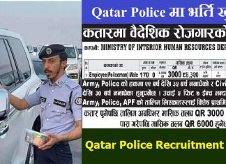 Qatar Police Recruitment System
