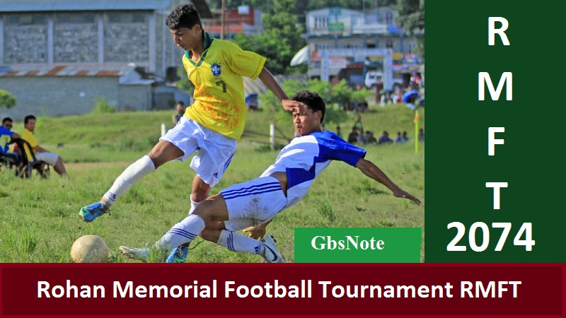 Rohan memorial football tournament