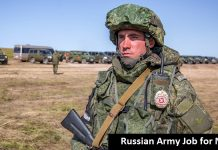 Russian Army Job for Nepali