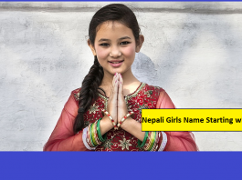 Nepali Girls Name Starting with S