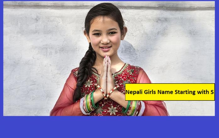 Nepali Girls Name Starting with S