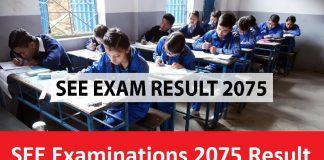 SEE Examinations 2075 Result