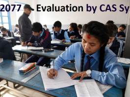 SEE 2077 Evaluation by CAS System