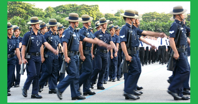 Singapore Police Force Requirements