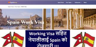 Spain Work Visa