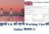 UK Working Visa Application Form
