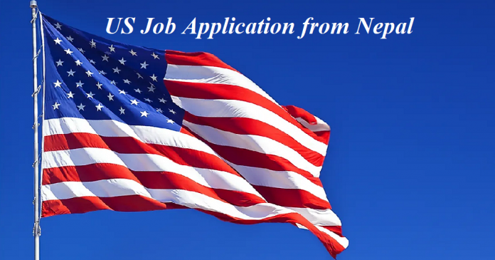 US Job Application from Nepal