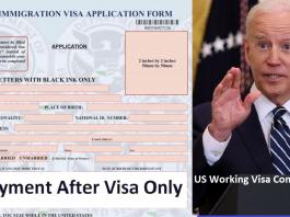 US Working Visa Complete Guide