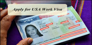 Apply for USA Work Visa