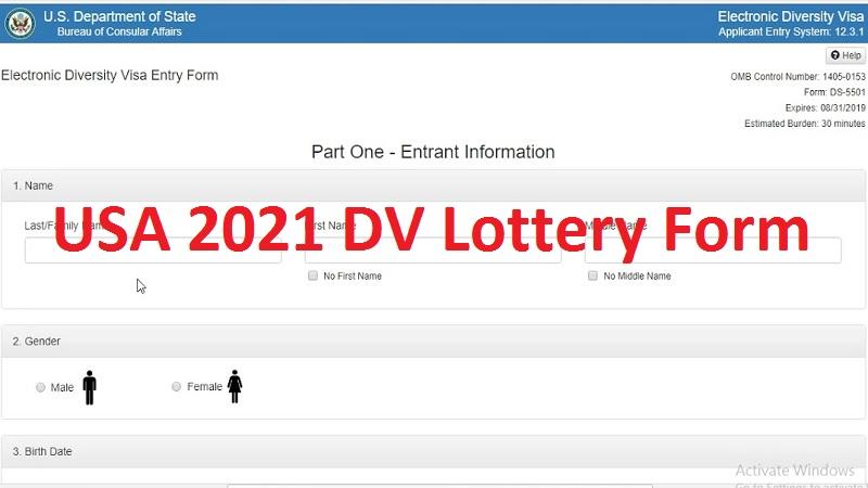 usa-dv- Online Usa Visa Application Form on
